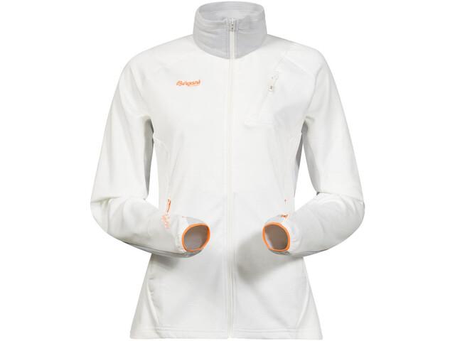 Bergans Galdebergtind Jacket Women white/alu/pumpkin